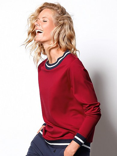 DAY.LIKE - Sweatshirt mit Rundhals-Ausschnitt