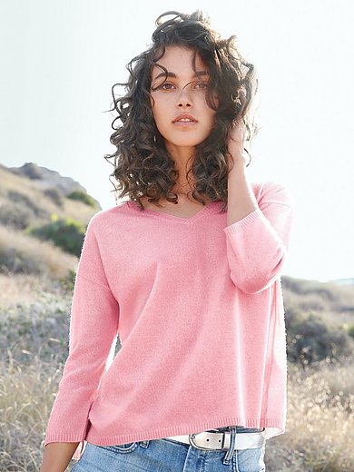 Peter Hahn - Le pull 100% laine vierge manches 3/4