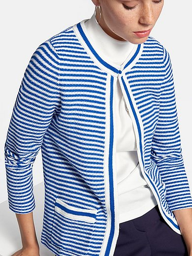 Peter Hahn - Cardigan with patch pockets