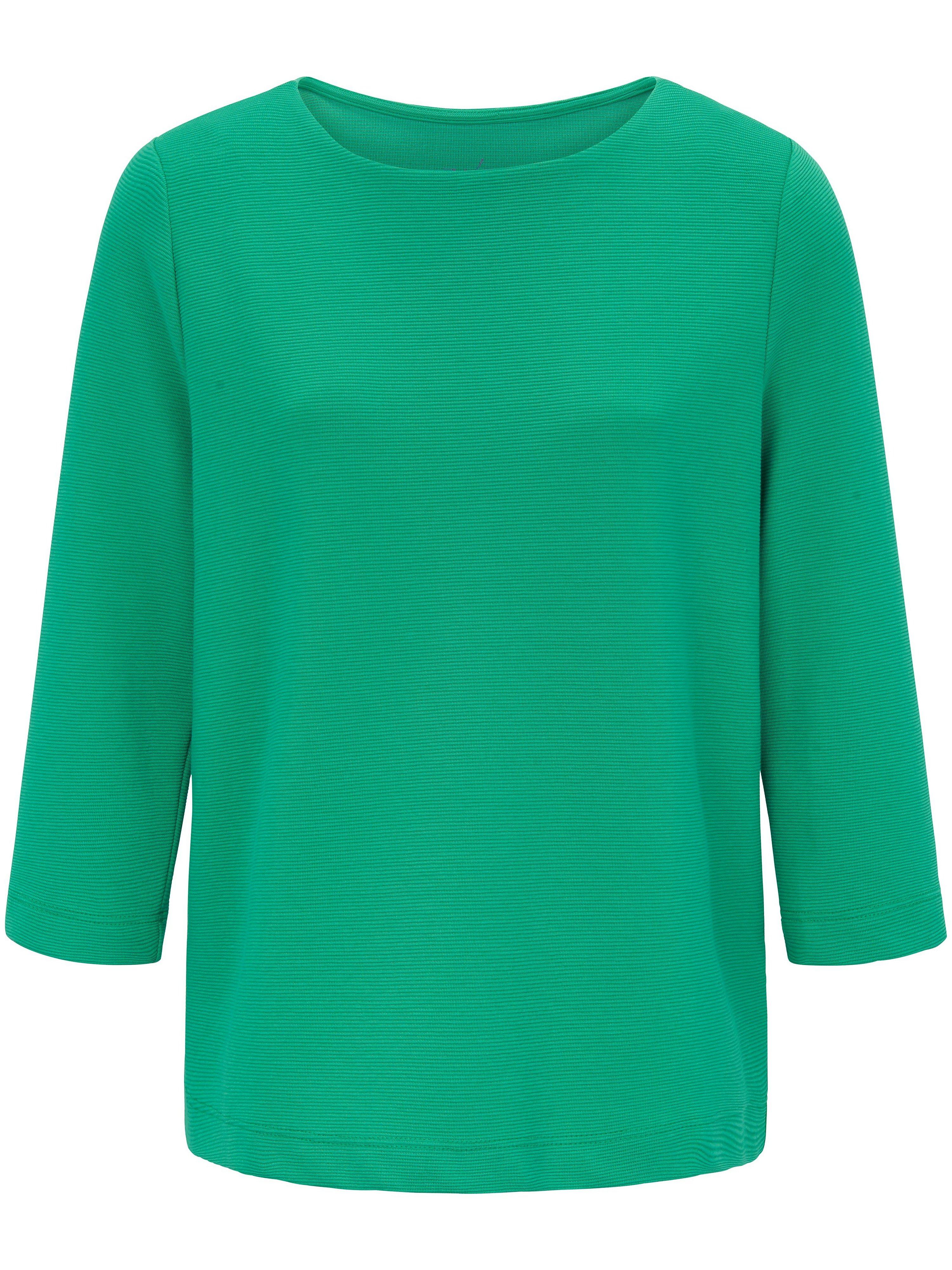 Le T-shirt manches 3/4  ZAIDA vert taille 38