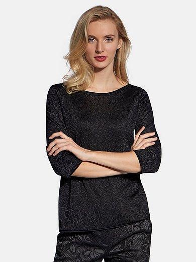 Basler - Boat neck jumper with 3/4-length sleeves