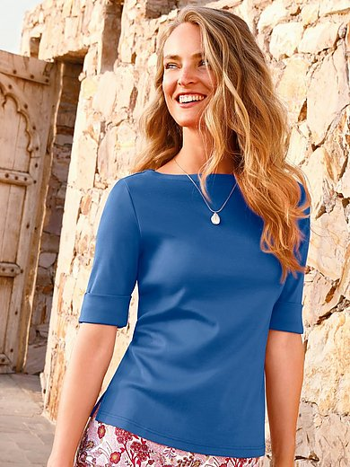 Efixelle - Top with boat neck