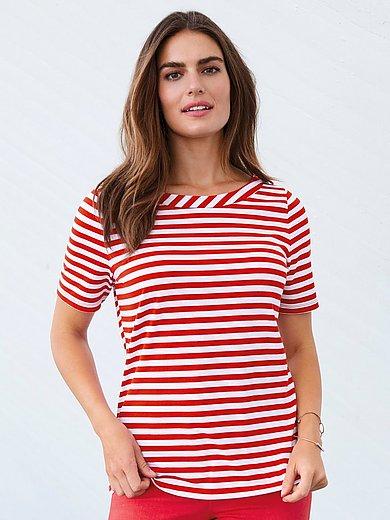 Gestreept shirt rood wit Overhemden online | BESLIST.nl