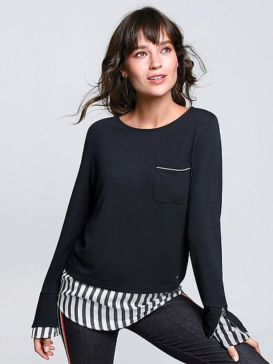 Brax Feel Good - Sweatshirt i 2-i-1-look