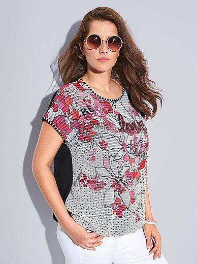 Via Appia Due - Blusen-Shirt mit überschnittener Schulter