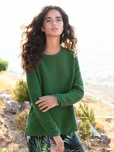 MAERZ Muenchen - Rundhalsad tröja med lång ärm i 100% bomull