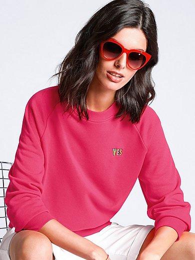 Margittes - Sweater with long raglan sleeves