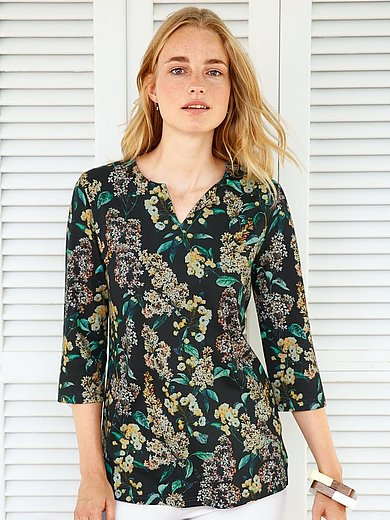 Green Cotton - Splitneck-Shirt