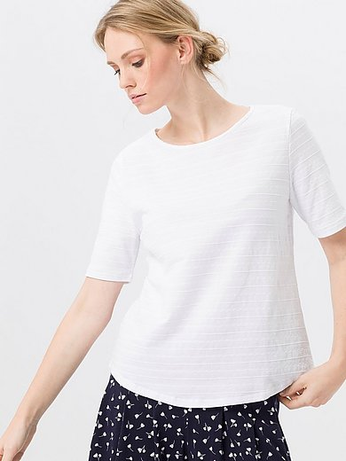 Green Cotton - Top with short sleeves