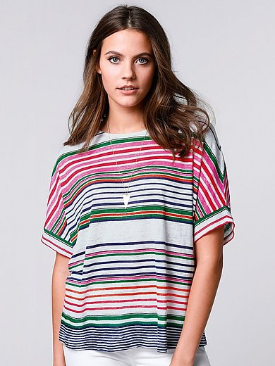 Brax Feel Good - Rundhals-Shirt aus 100% Leinen