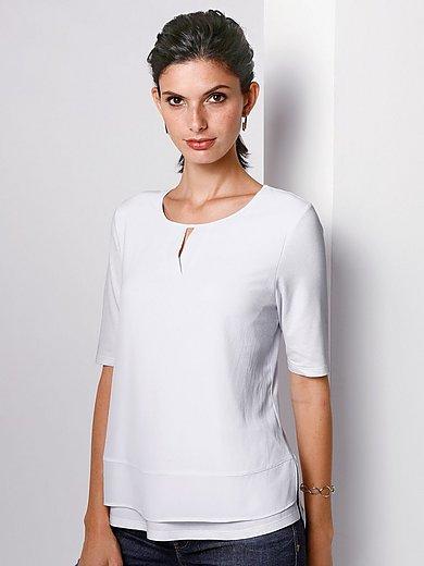 Rabe - Rundhals-Shirt im Lagen-Look