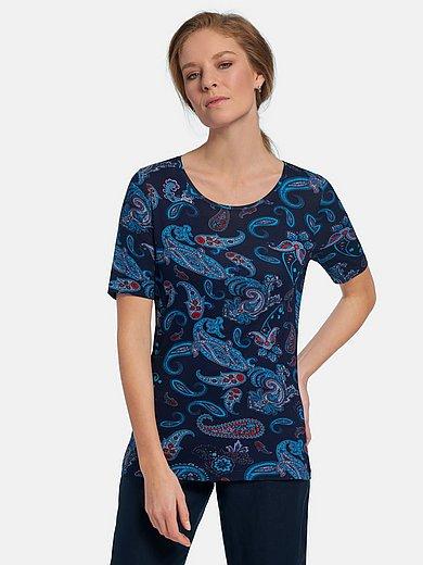 Peter Hahn - Shirt met korte mouwen en paisleydessin