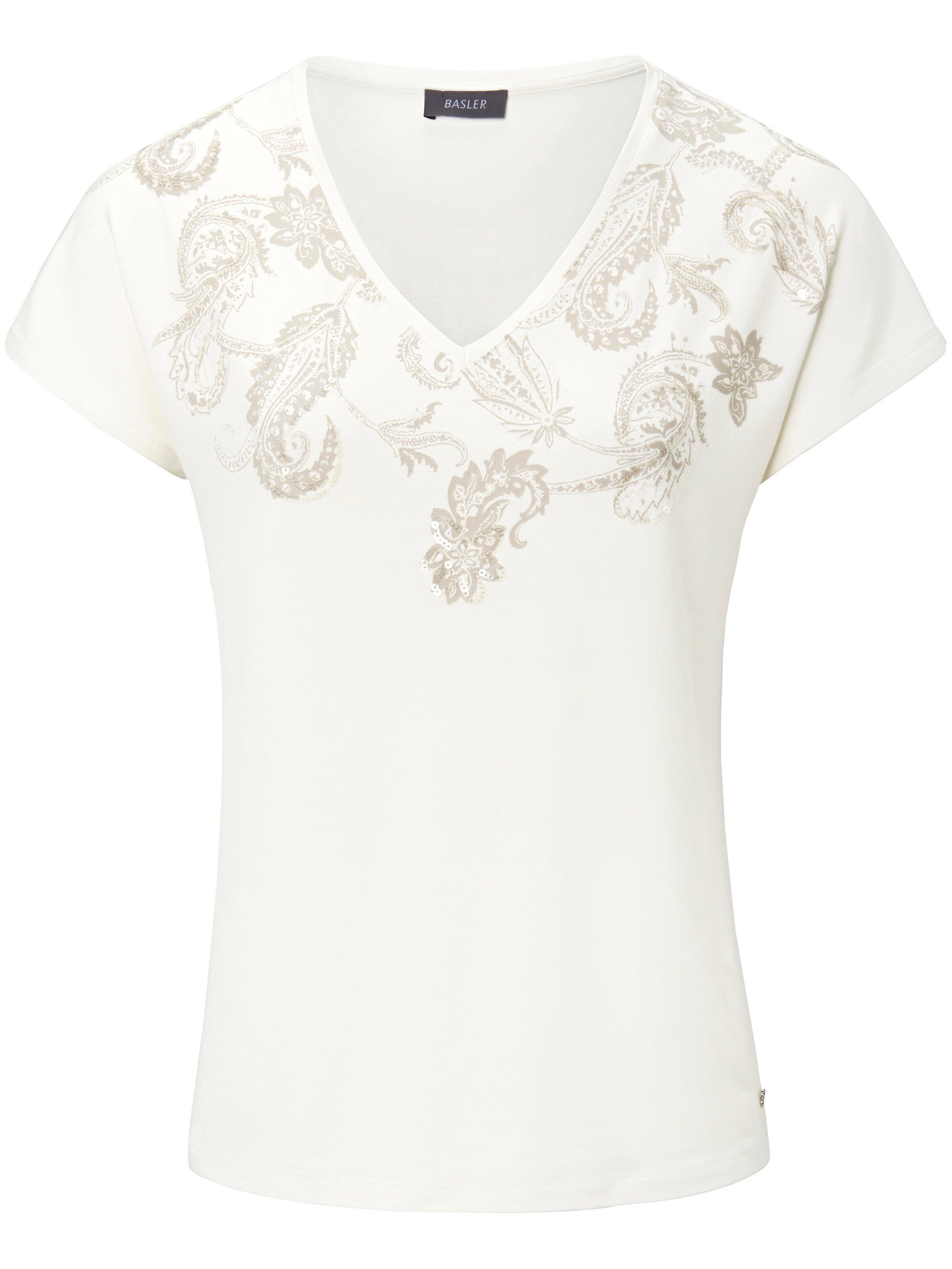 V-Shirt 1/2-Kimono-Arm Basler weiss | Bekleidung > Shirts > V-Shirts | Basler