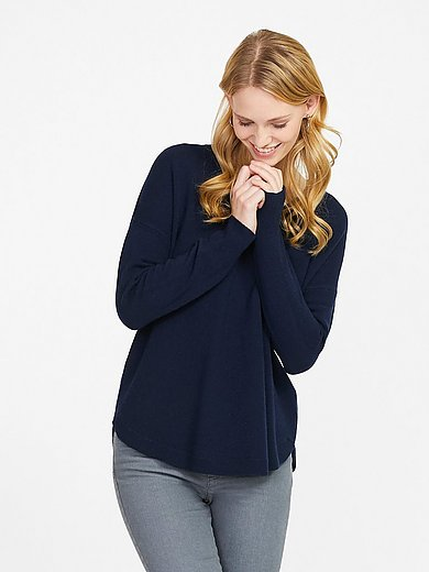include - V-neck jumper in % cashmere