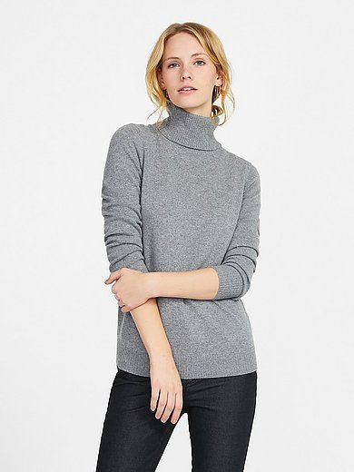 Peter Hahn Cashmere - Roll-neck jumper with long sleeves
