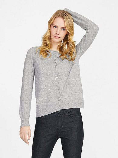 Peter Hahn Cashmere - Cardigan in Pure cashmere in premium quality