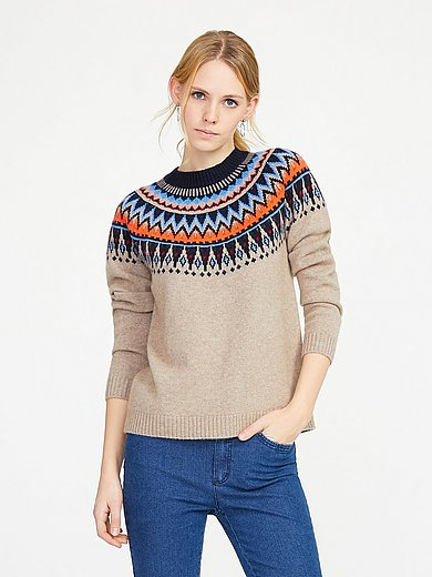 include - Round neck jumper 100% cashmere