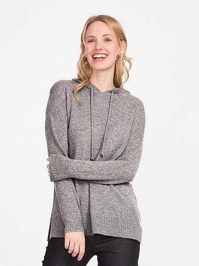 include - Hooded jumper in Pure cashmere in premium quality