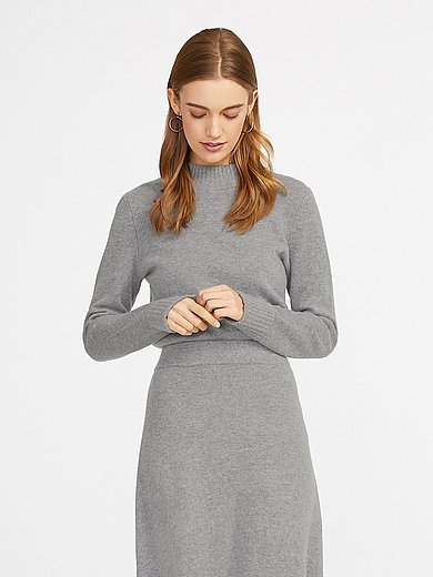 include - Jumper in new milled wool and cashmere