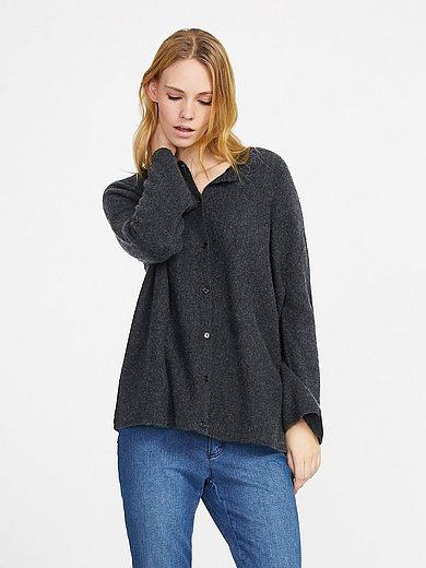 include - Strickjacke in locker fallender Oversize-­Form