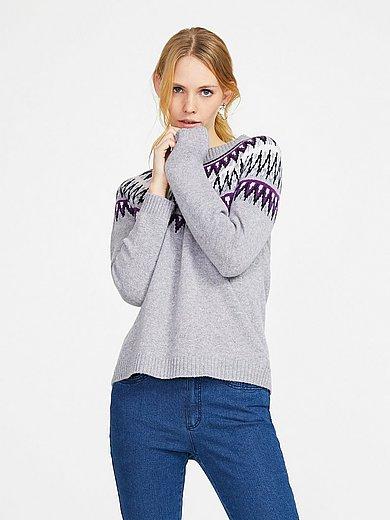 include - Round neck jumper 100% cashmere
