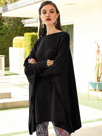 Laura Biagiotti Donna - Le pull-poncho 100% cachemire