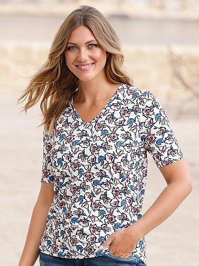 Anna Aura - T-Shirt mit V-Ausschnitt