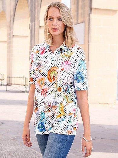 Anna Aura - Poloshirt van 100% katoen met korte mouwen