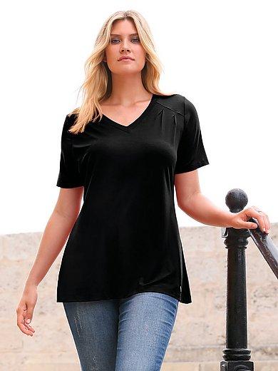 Anna Aura - Shirt in A-lijn met korte mouwen