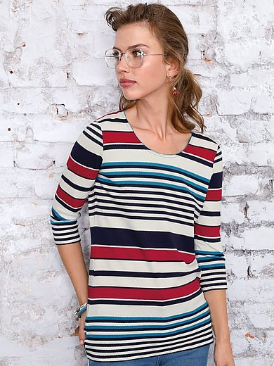 Looxent - Striped jumper with 3/4-length sleeves