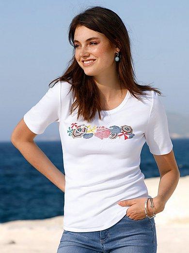 ZAIDA - Le T-shirt encolure dégagée