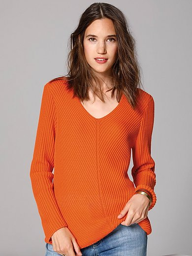 MAERZ Muenchen - V-neck jumper with long sleeves