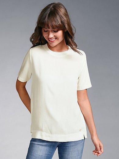 MAERZ Muenchen - Shirt met ronde hals en korte mouwen