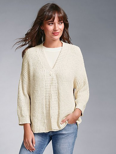 MAERZ Muenchen - Cardigan with 3/4-length sleeves