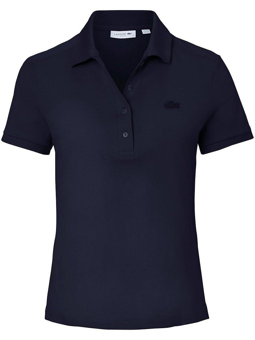 Artikel klicken und genauer betrachten! - Polo-Shirt von LACOSTE mit 1/4-Arm. Etwas schmaler und leicht tailliert ausneuem, softem und fließendem Piqué in 94% Baumwolle, 6% Elasthan mit demLACOSTE-Krokodil. Länge ca. 64 cm. Dieses Polo-Shirt ist maschinenwaschbar.Die LACOSTE-Modelle sind mit den französischen Original-Größen ausgezeichnet.Bitte bestellen Sie Ihre LACOSTE-Modelle in Ihrer deutschen Größe. Normalwaschgang 30°. Chlorbleiche nicht möglich. Mäßig heiß Bügeln. Reinigung P. | im Online Shop kaufen