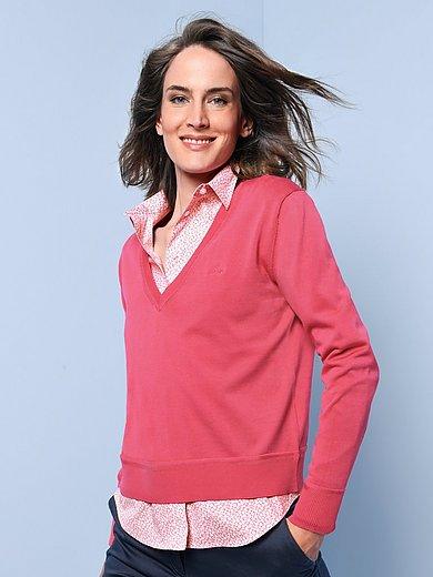 GANT - V-neck jumper in 100% cotton