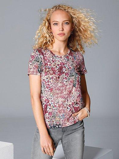 MYBC - Shirt met ronde hals en ornamentenprint