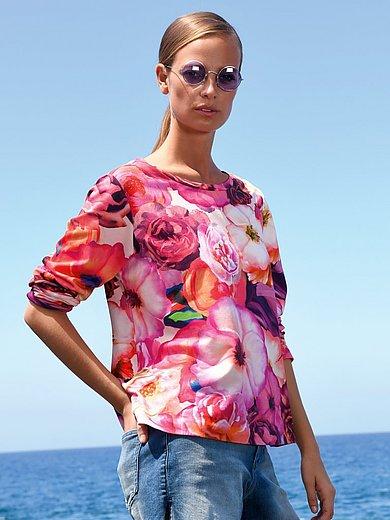 Margittes - Sweatshirt met lange mouwen en bloemenprint