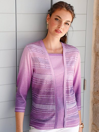 Dingelstädter - 2-in-1 jumper with 3/4-length sleeves