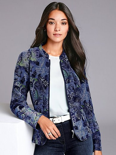 Rabe - Jersey jacket with print