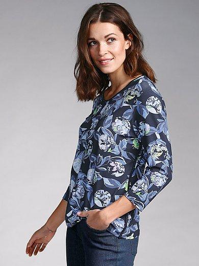 Rabe - Shirt met ronde hals en bloemenprint