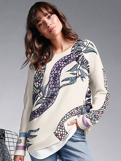 LIEBLINGSSTÜCK - Round neck jumper with long sleeves