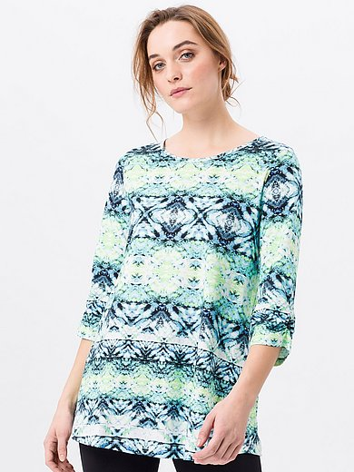 Green Cotton - Lang shirt van 100% katoen met 3/4-mouwen