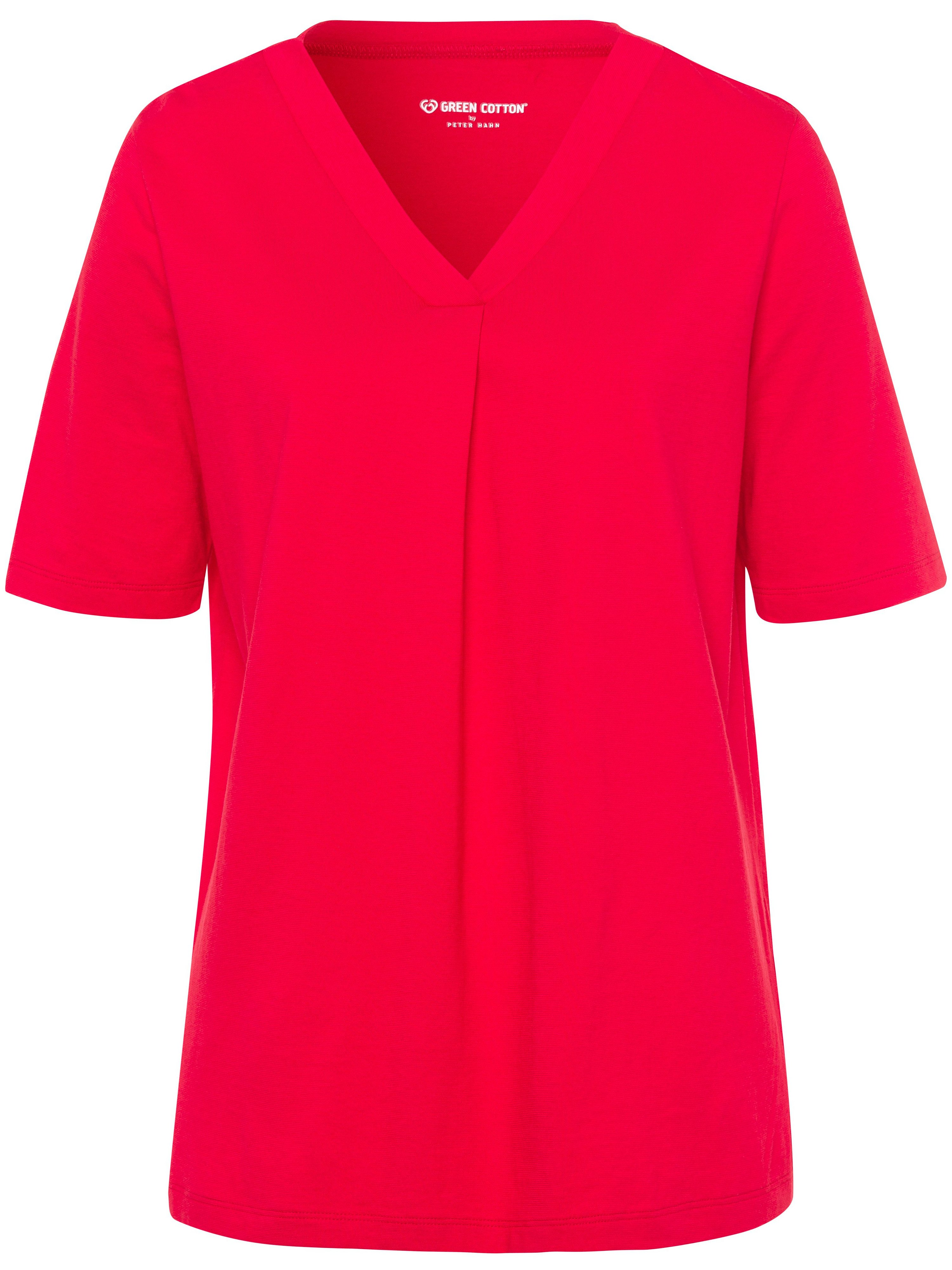 green cotton - T-Shirt  rot
