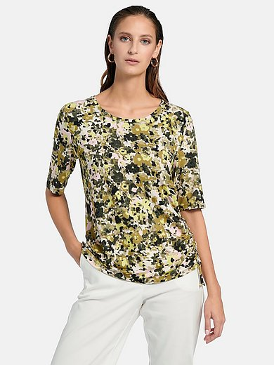 Gerry Weber - Round neck shirt with short sleeves