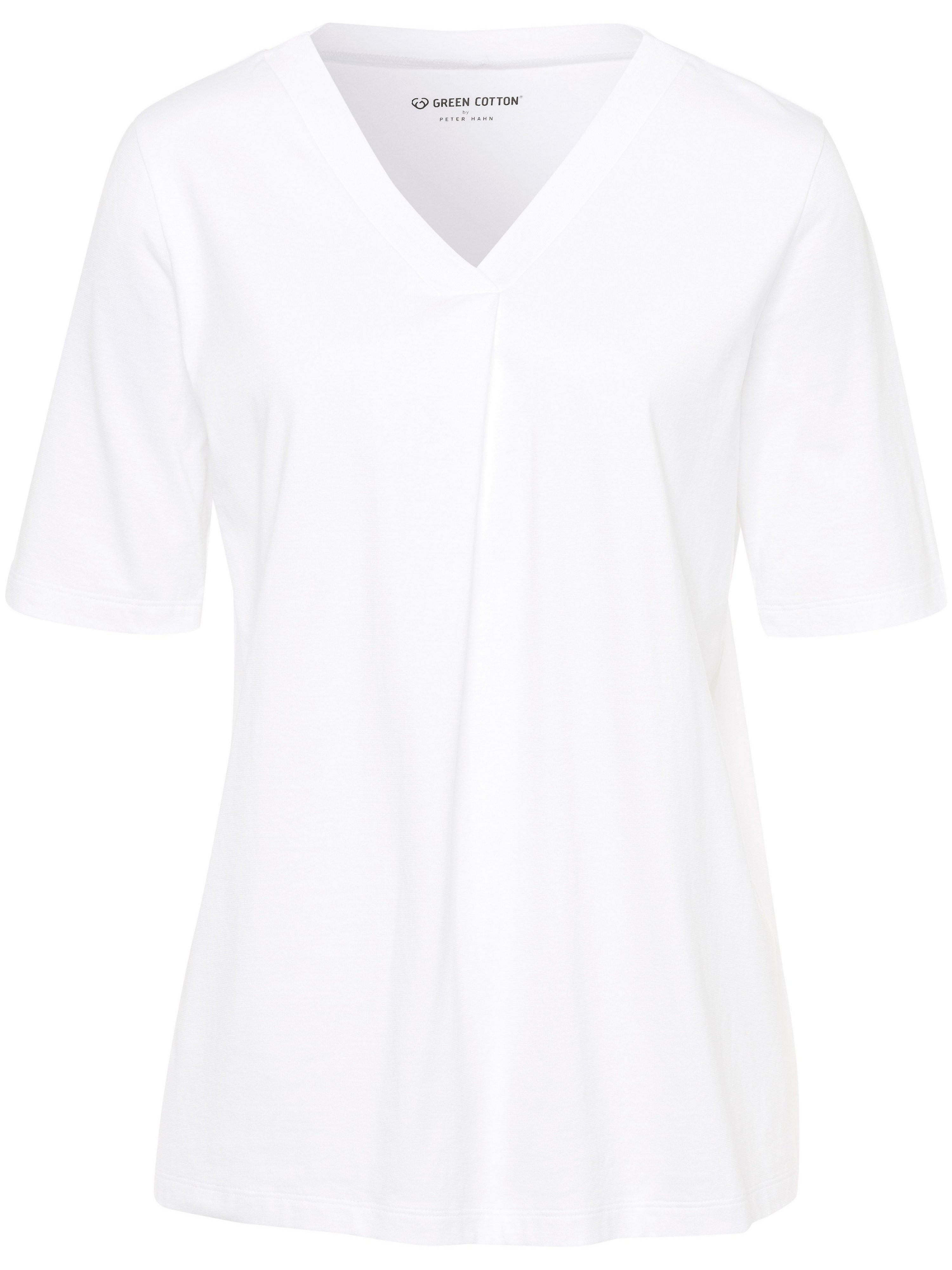 green cotton - T-Shirt  weiss