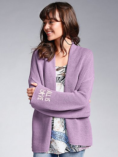 LIEBLINGSSTÜCK - Cardigan with long sleeves in 100% cotton