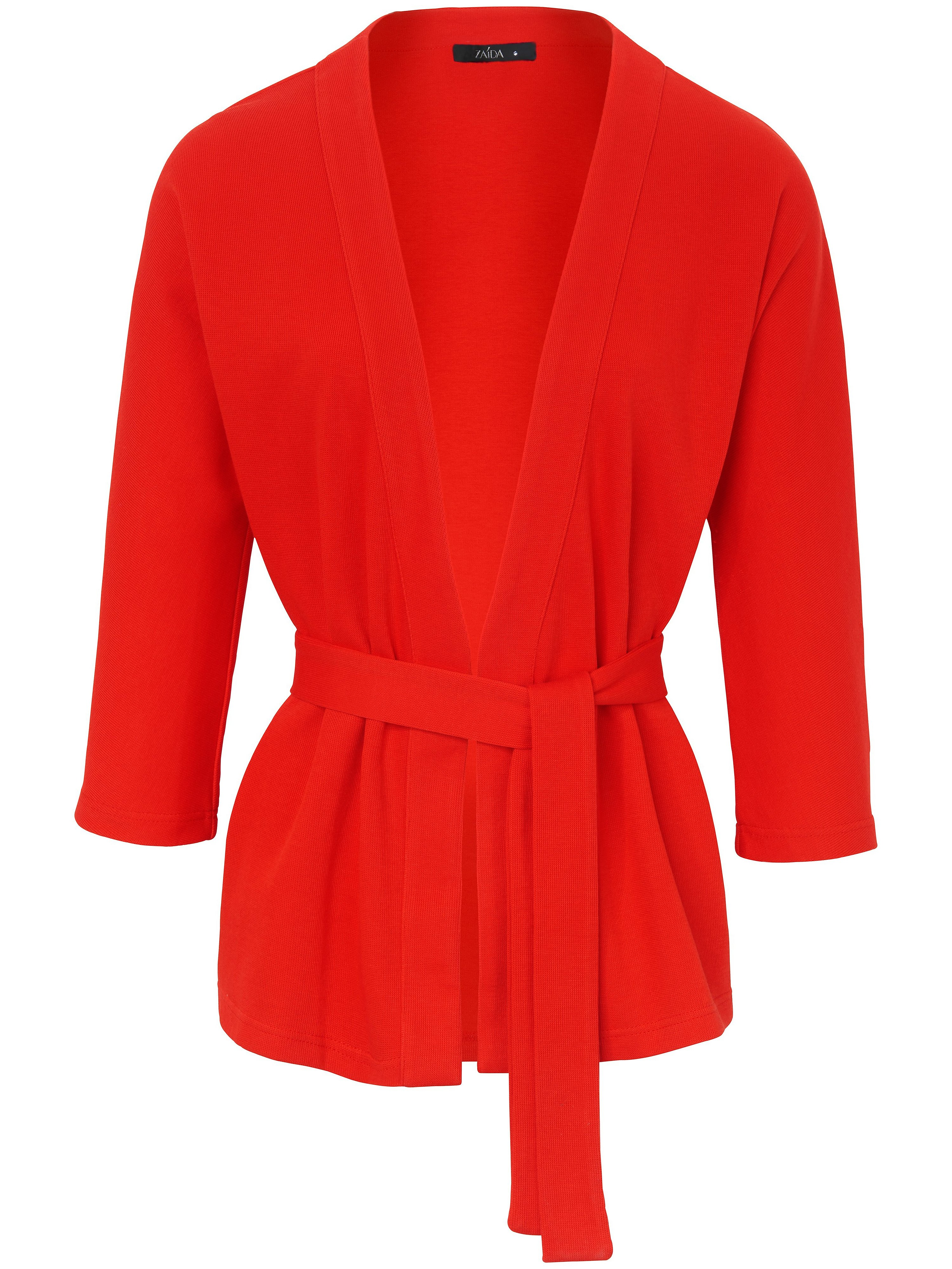 Le gilet manches 3/4  ZAIDA rouge taille 48