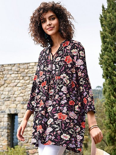 Peter Hahn - Jersey tunic with 3/4-length sleeves