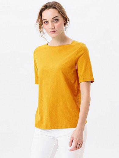 Green Cotton - T-shirt van 100% katoen met boothals